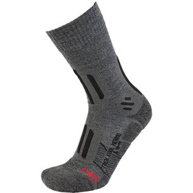 UYN Trekking Cool Merino Socks Men medium grey melange/black